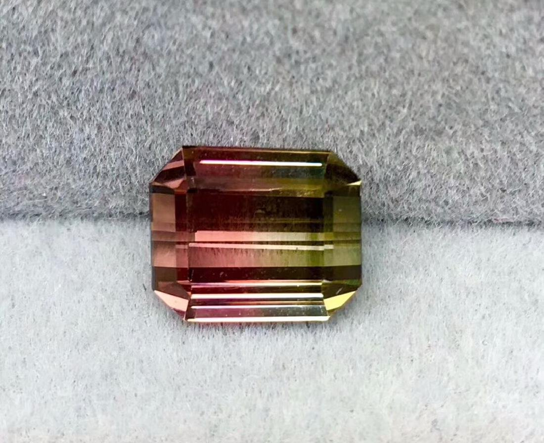 4ct Tourmaline 9*7.5 mm Pear Cut
