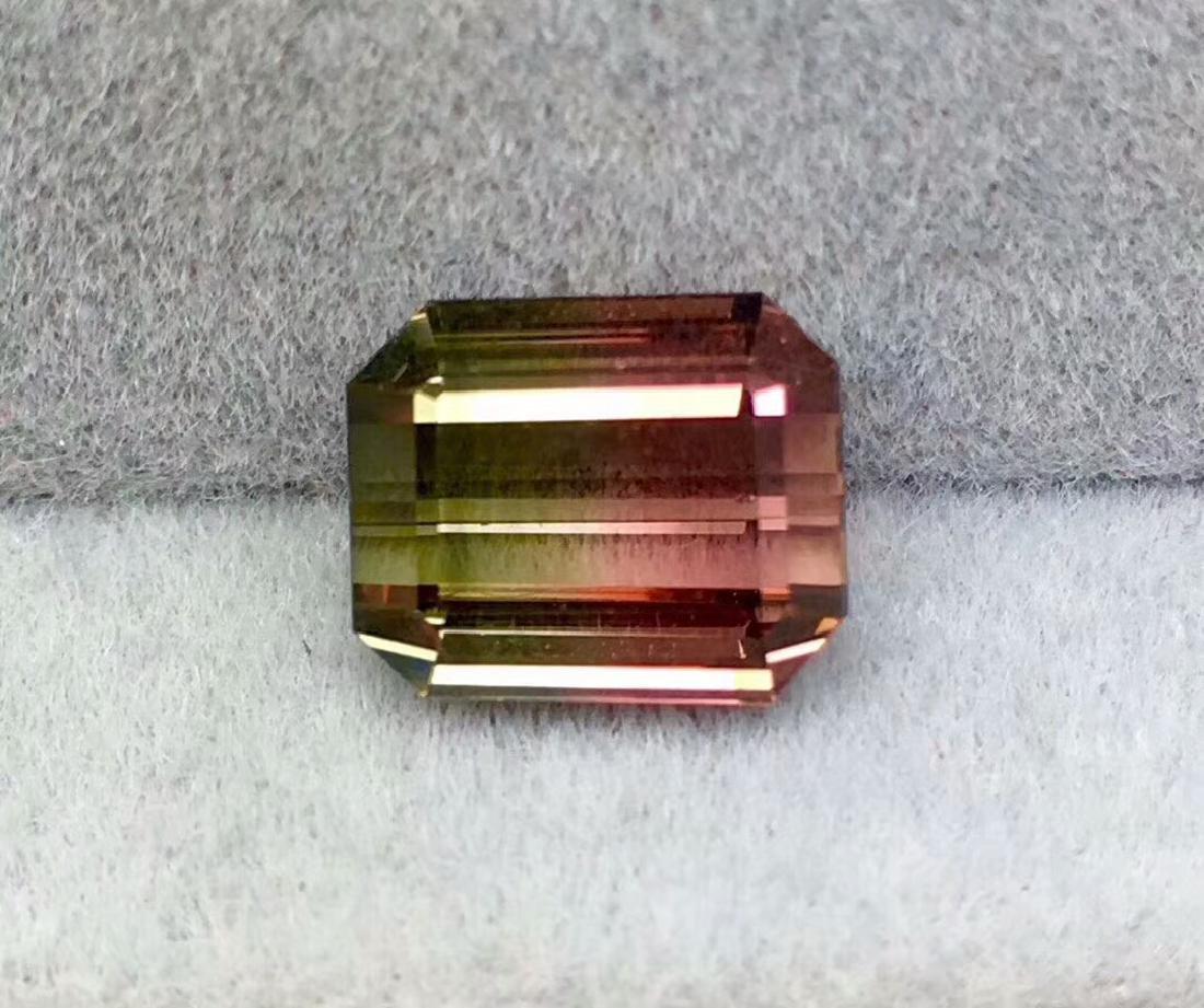 4ct Tourmaline 9*7.5 mm Pear Cut - 2