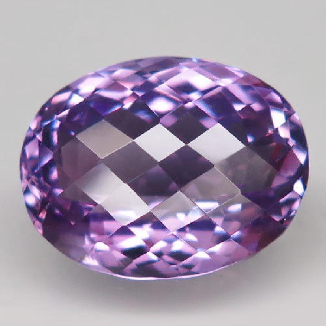 9.68ct 100%Natural Rich Purple Amethyst Unheated Brazil