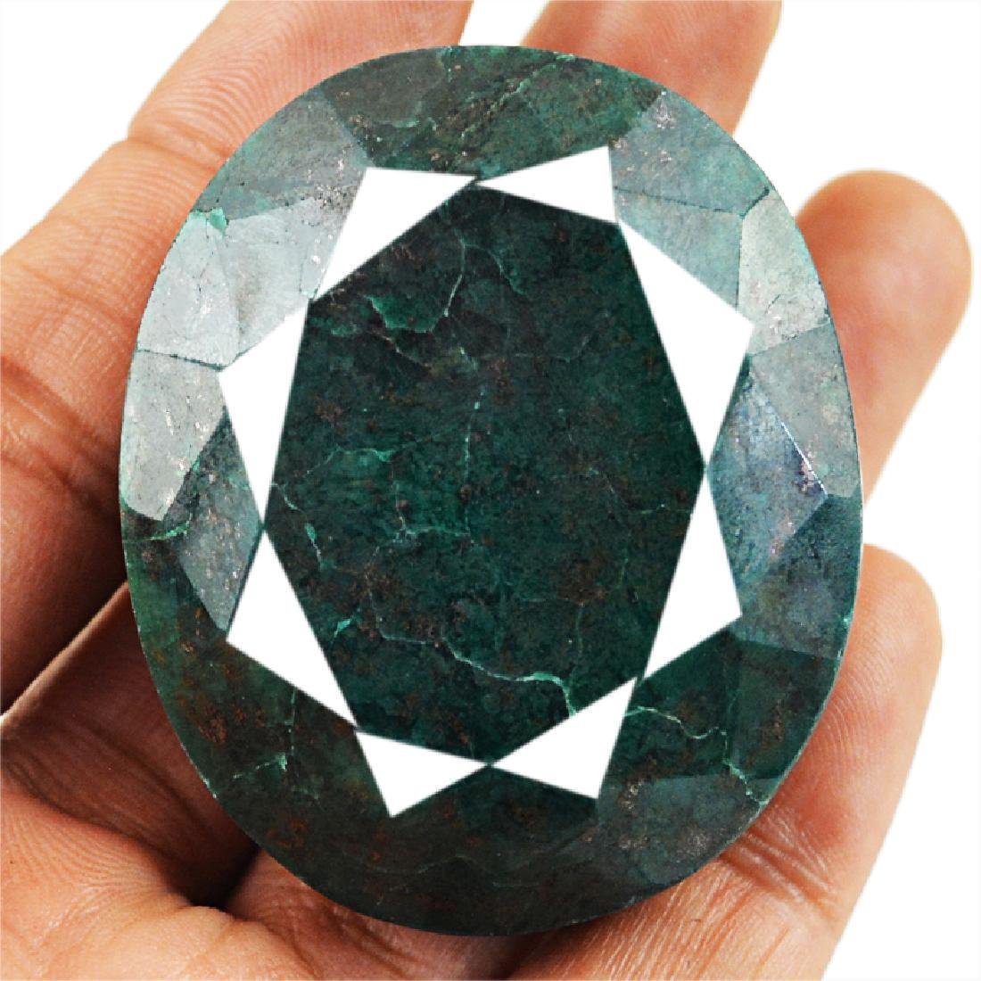 Faceted Emerald Cab