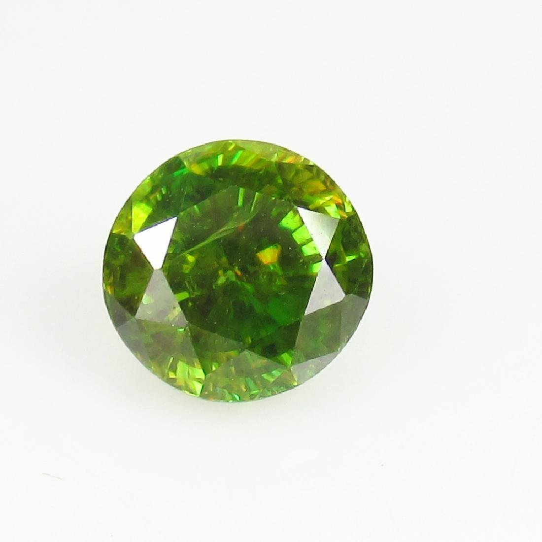 IGI Certified 2.01 Ct Genuine Yellowish Green Sphene