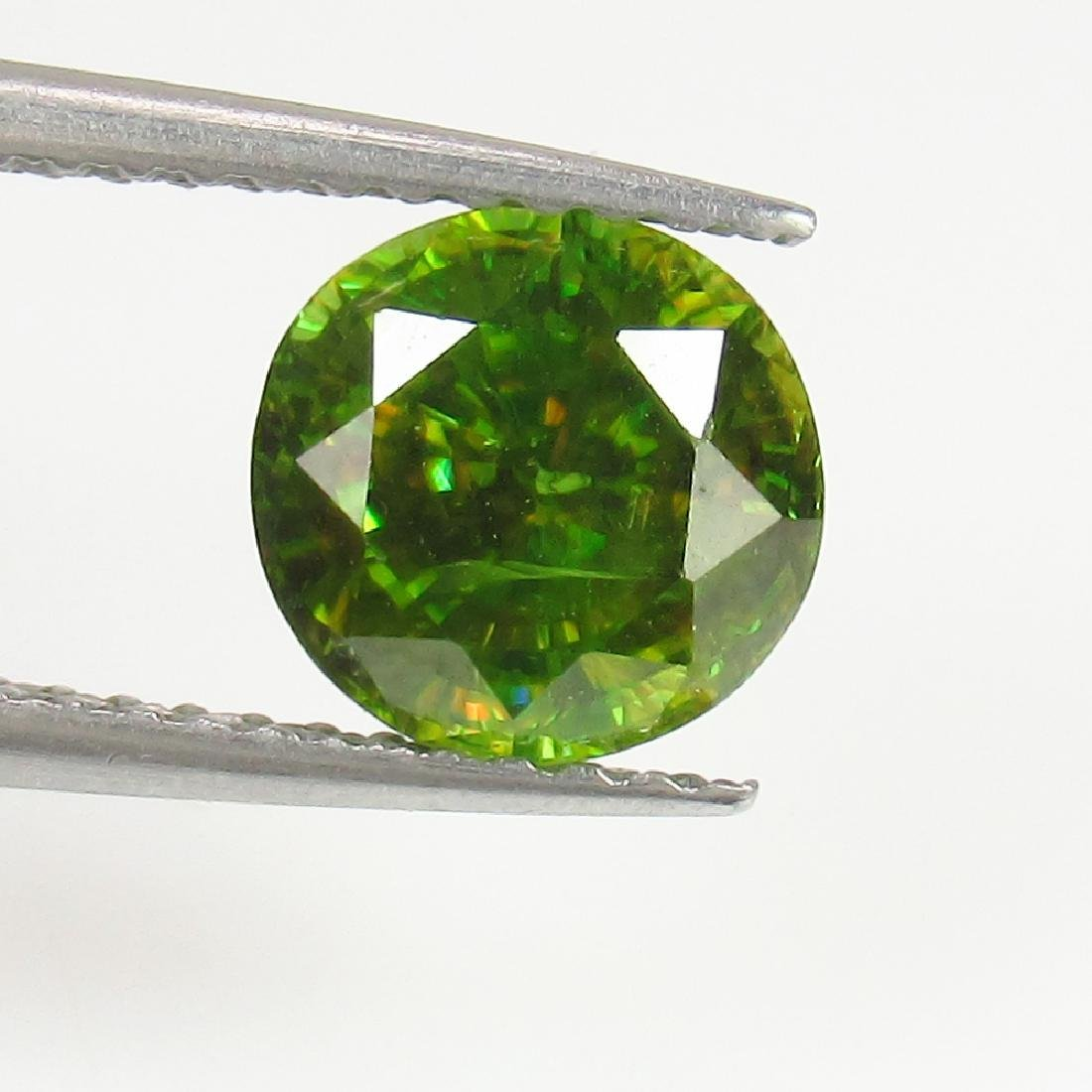 IGI Certified 2.01 Ct Genuine Yellowish Green Sphene - 3