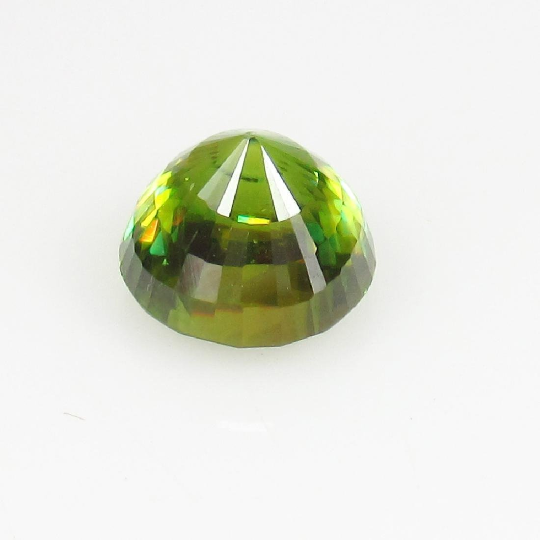 IGI Certified 2.01 Ct Genuine Yellowish Green Sphene - 5