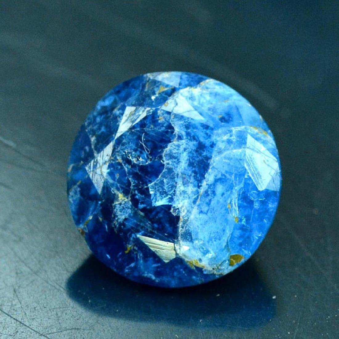 2.25 cts Extremely Rare Blue Color Natural Afghanite - 2