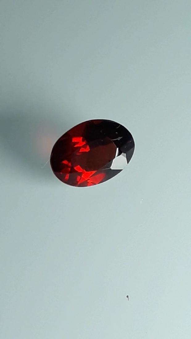 2.65ct Untreated Vivid Madagascar Red Garnet   VVS - 2