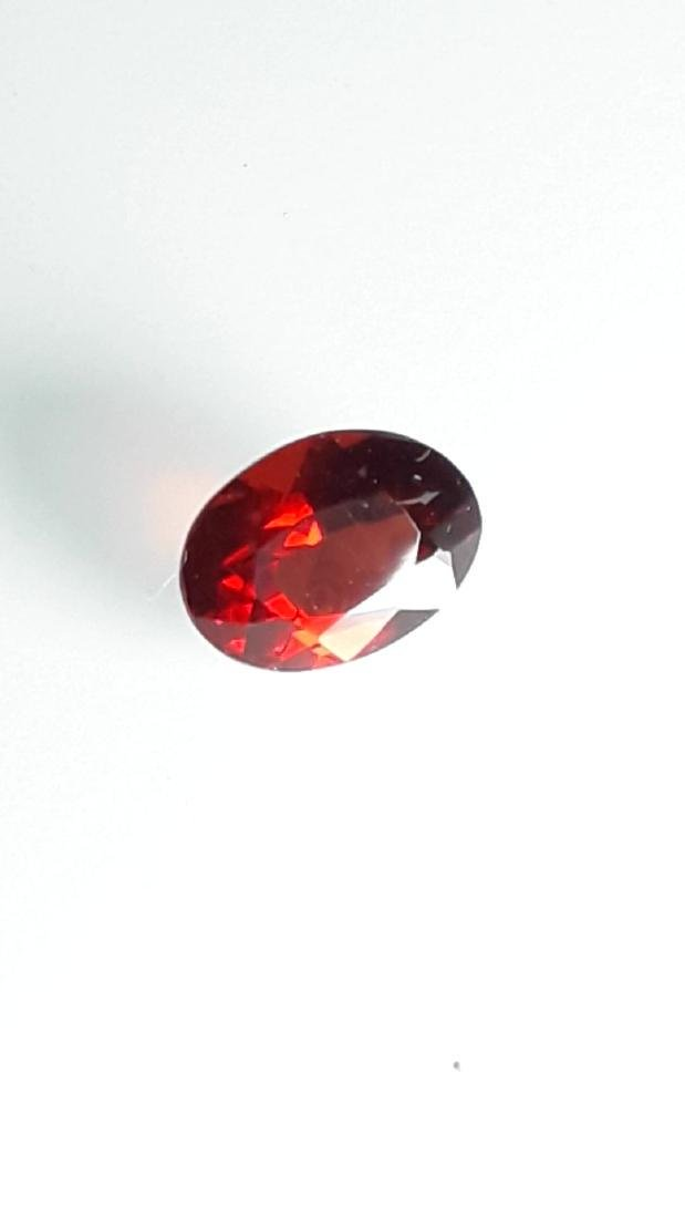 2.65ct Untreated Vivid Madagascar Red Garnet | VVS - 6