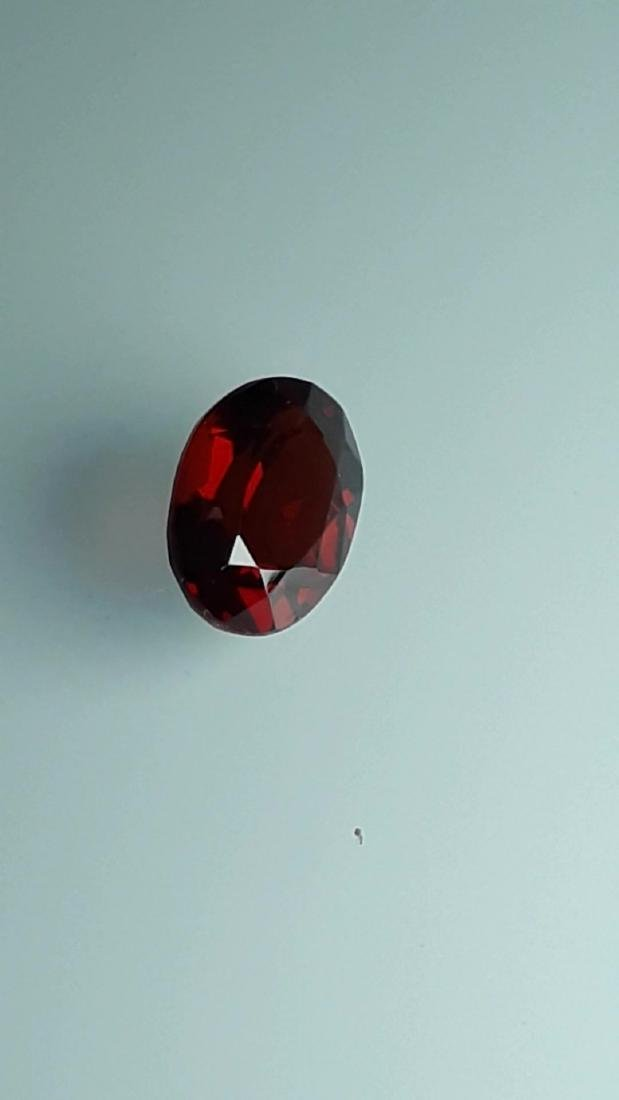 2.65ct Untreated Vivid Madagascar Red Garnet | VVS - 7