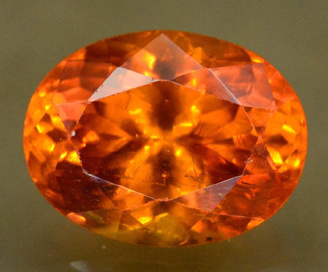 2.60 carats Fanta Color Spessartite Garnet Loose - 2
