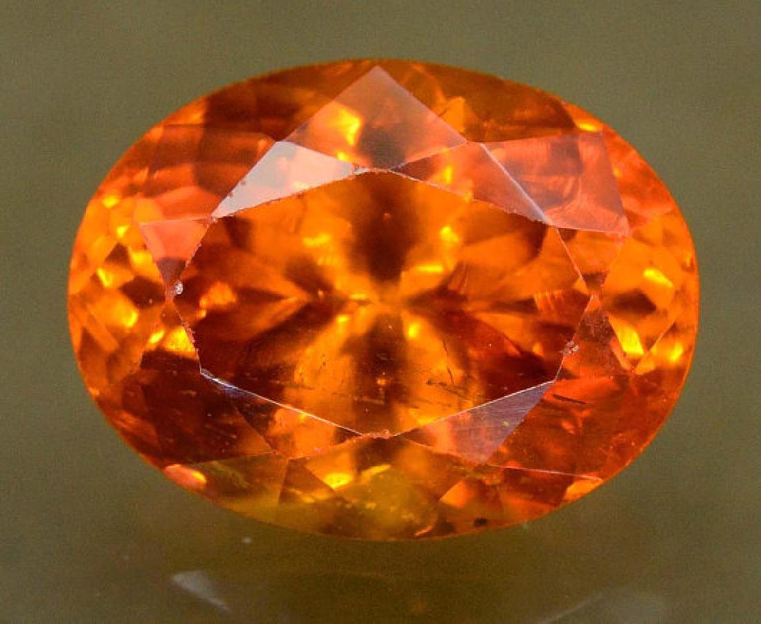 2.60 carats Fanta Color Spessartite Garnet Loose - 3
