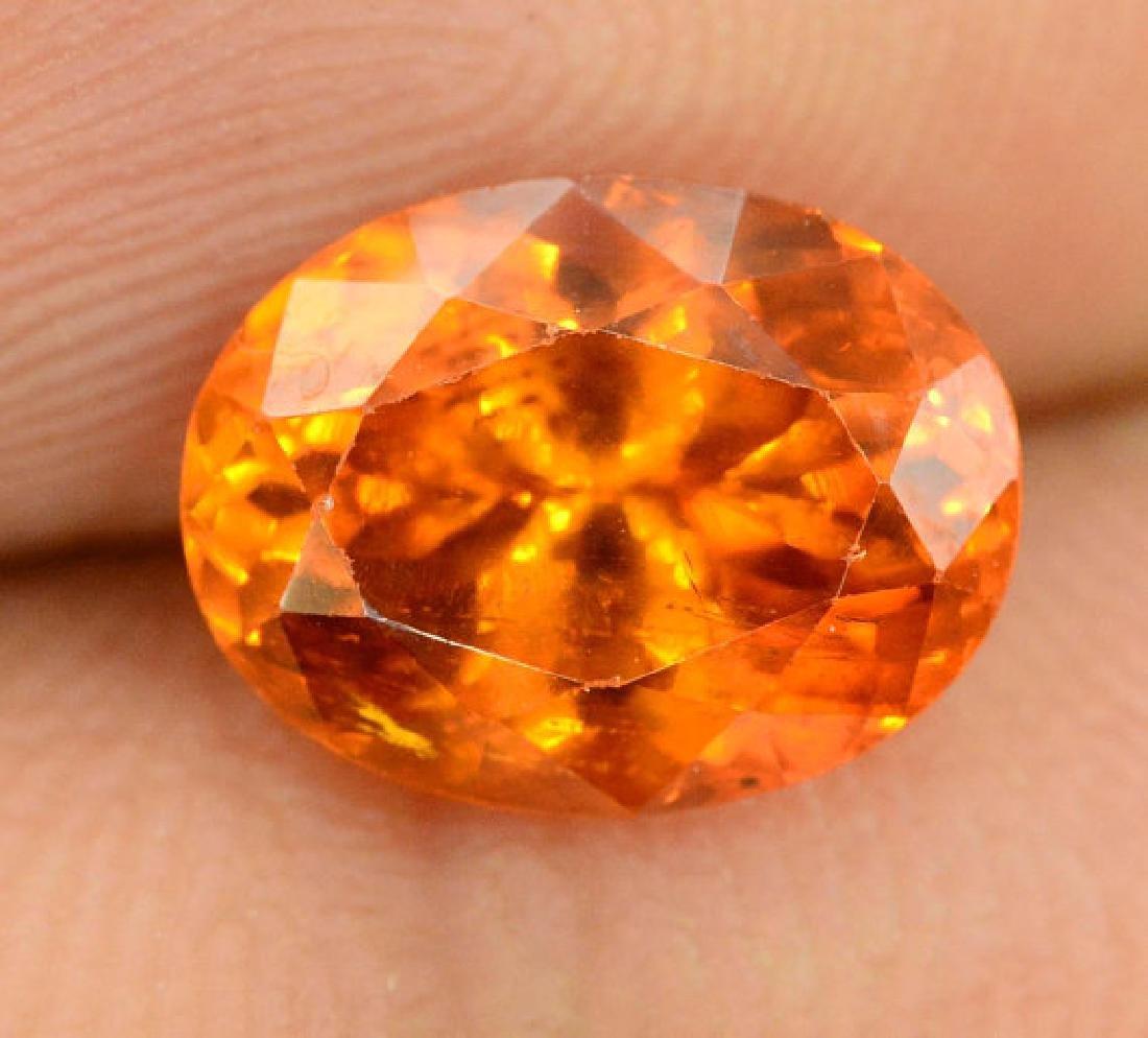 2.60 carats Fanta Color Spessartite Garnet Loose - 4