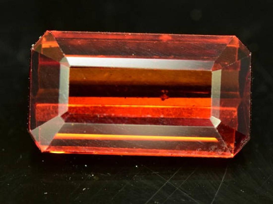 3.65 ct Natural Spessartite Garnet Loose Gemstone - 4