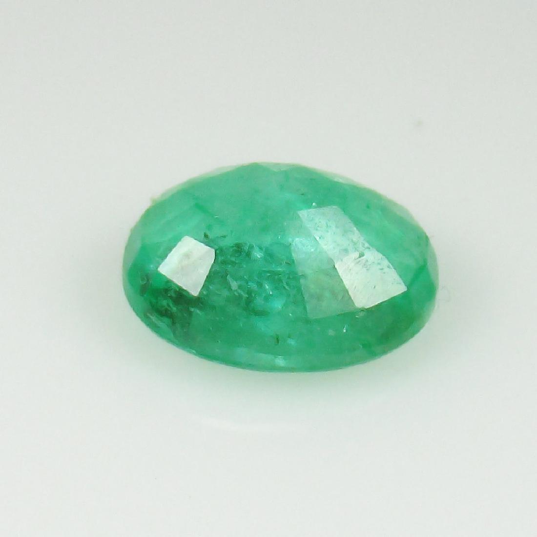 1.35 Ctw Natural Zambian Loose Oval cut Emerald - 4