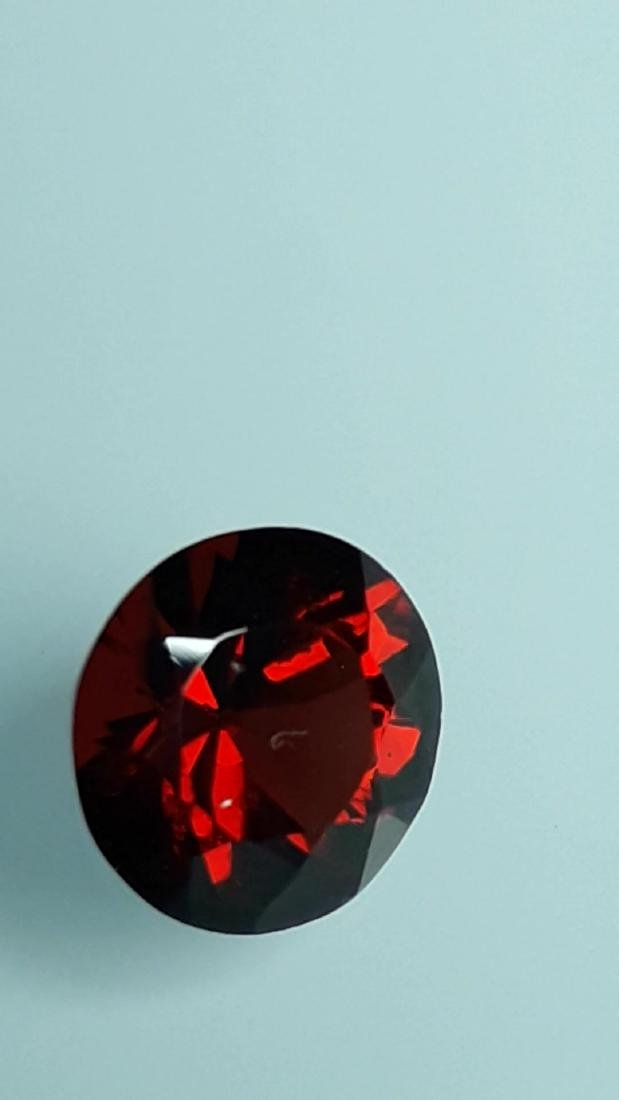 1.85ct Untreated Vivid Madagascar Red Garnet   VVS - 2