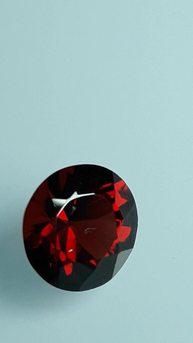 1.85ct Untreated Vivid Madagascar Red Garnet   VVS - 4