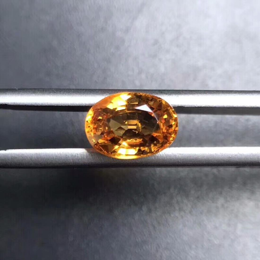 2.00 ct Garnet 8.4*5.9 mm Oval Cut