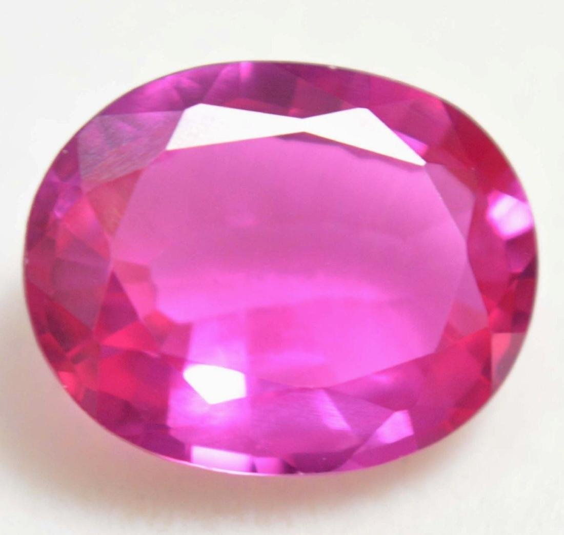 9.30 Ct Natural Pink Burma Ruby AGSL Certified