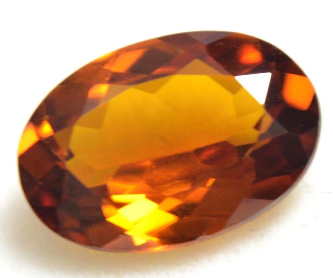 3.25 Ct Natural Ceylon Golden & Yellow Sapphire AGSL