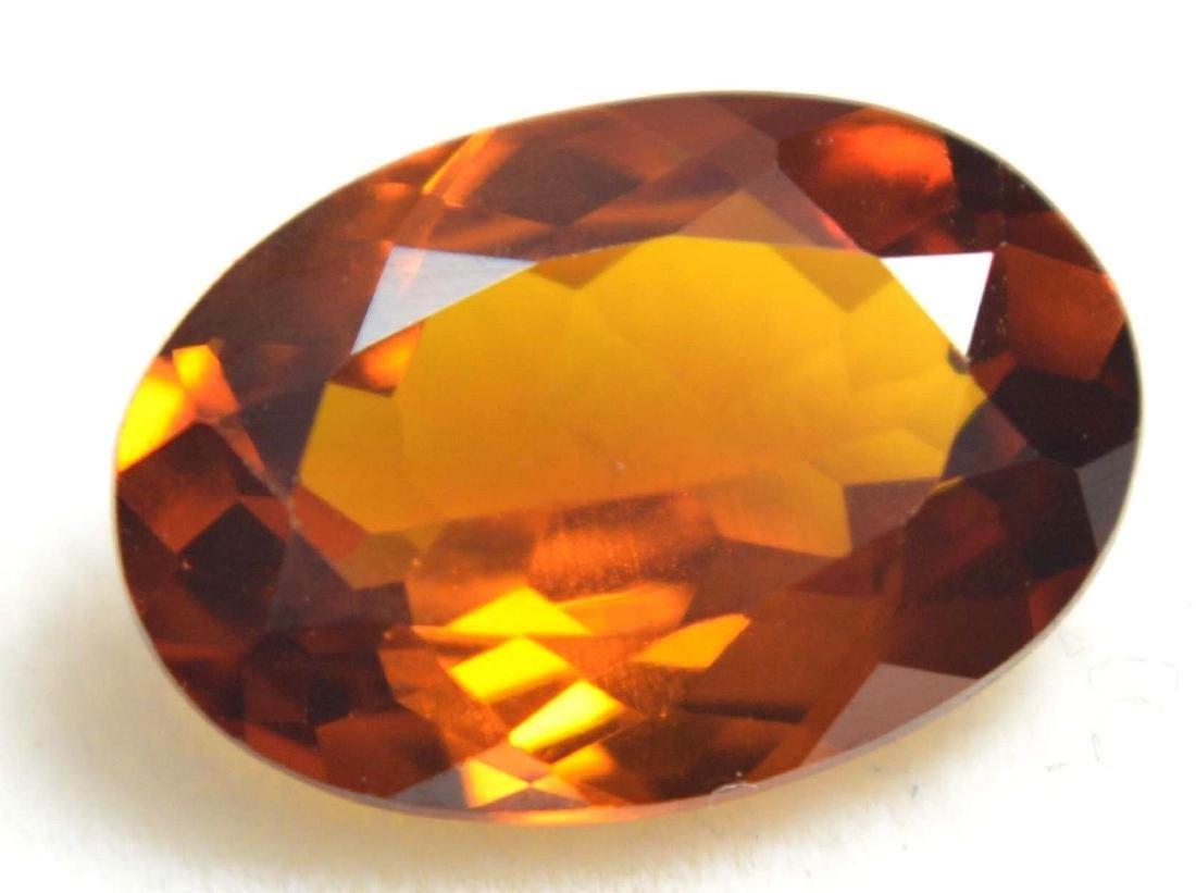 3.25 Ct Natural Ceylon Golden & Yellow Sapphire AGSL - 4