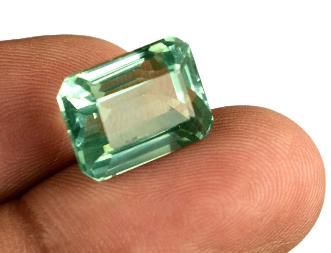 11.35 Carat Natural Green Sapphire IGL Certified