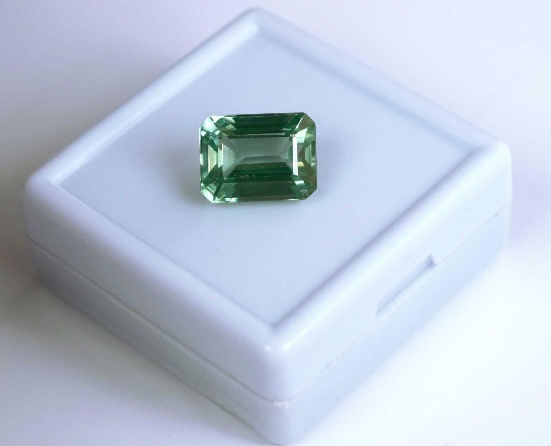 11.35 Carat Natural Green Sapphire IGL Certified - 3