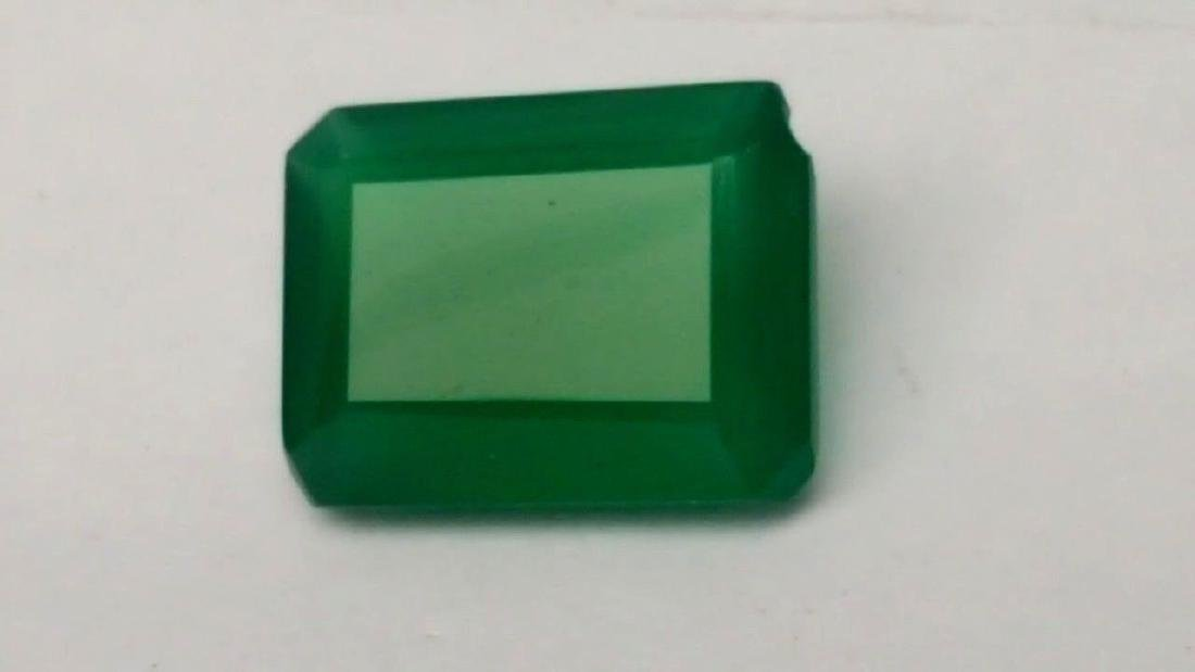 9 CARATS NATURAL GREEN CHALCEDONY - 6