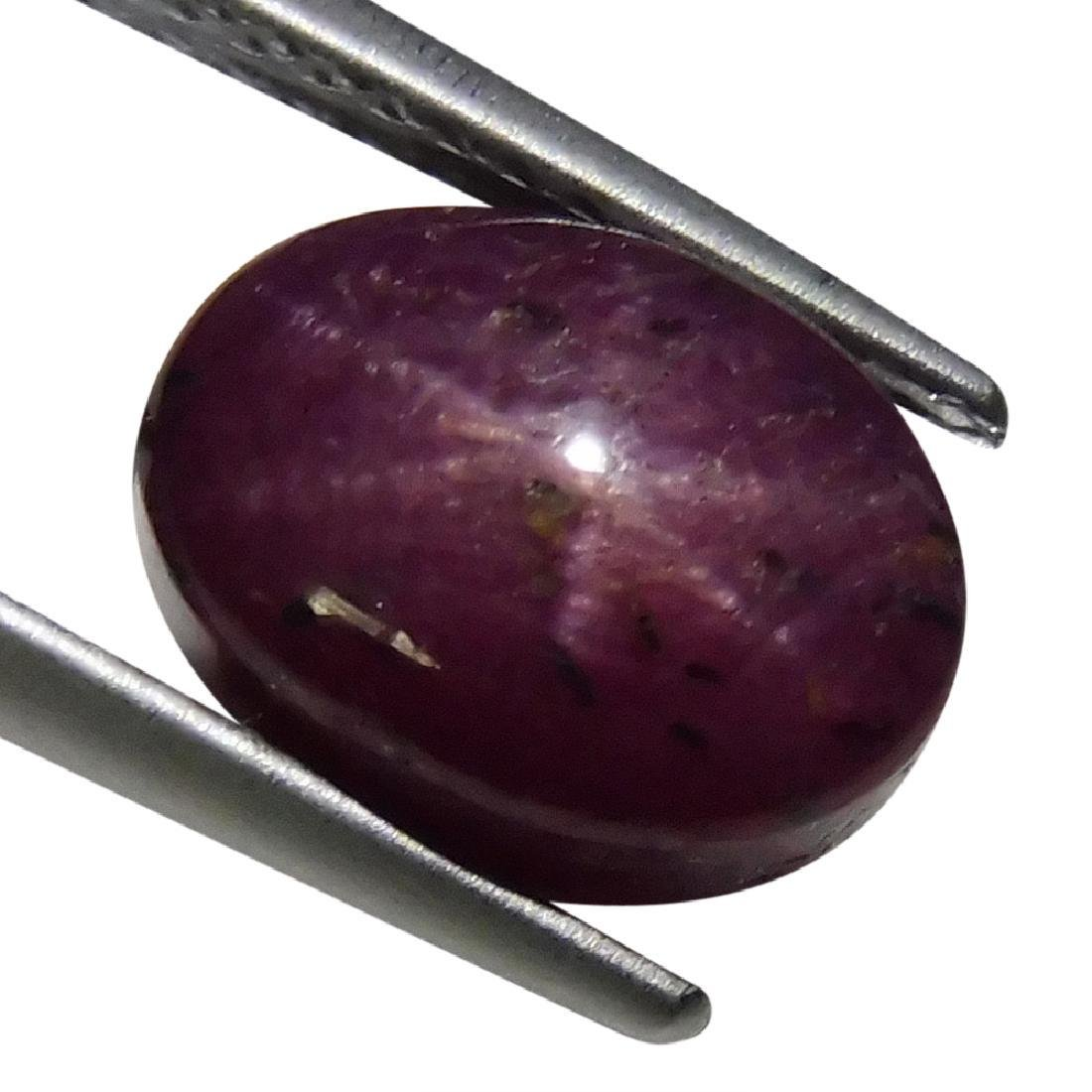 7.09 ct Oval Star Ruby - 6