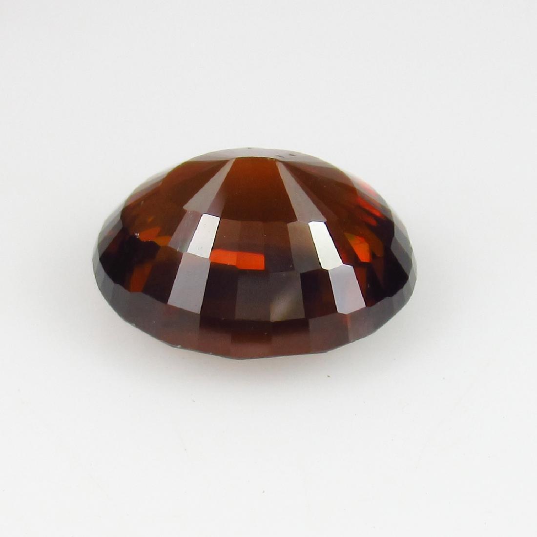 IGI Certified 4.67 Ct - Natural Loose Orangy Brown - 6