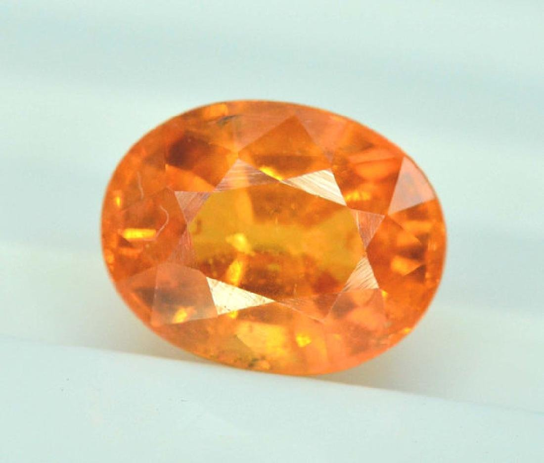 2.35 carats Fanta Color Spessartite Garnet Loose - 2