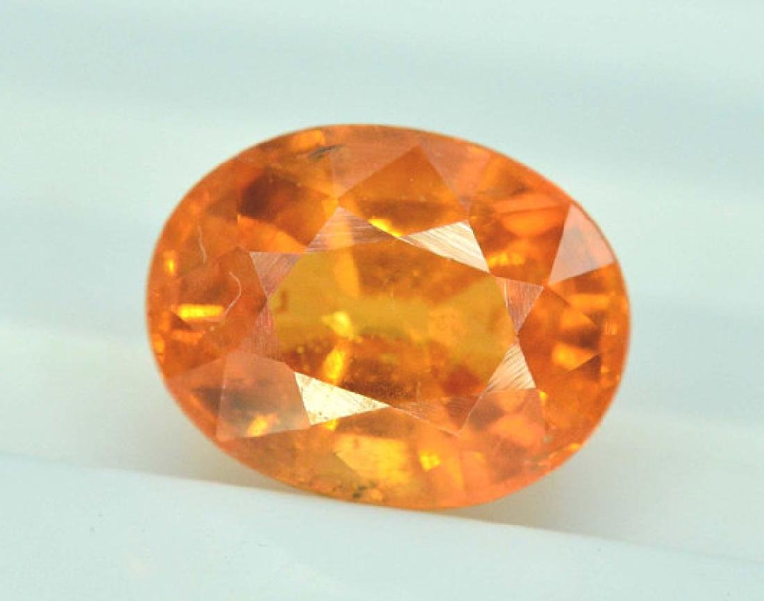 2.35 carats Fanta Color Spessartite Garnet Loose - 3