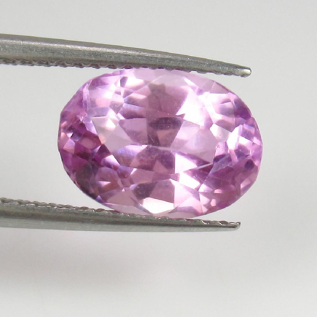 3.55 Ct IGI Certified Genuine Brazil Pink Spodumene - 5