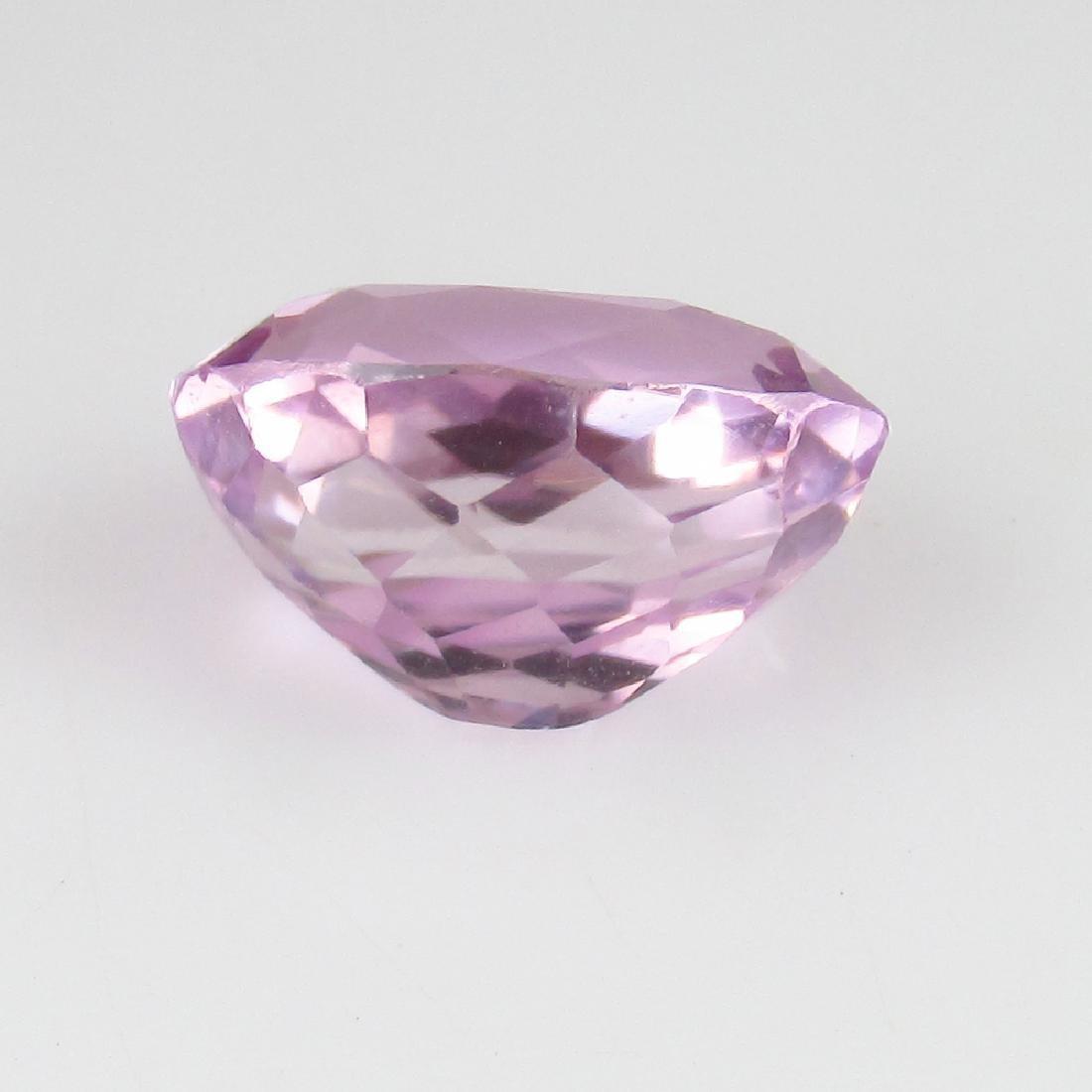 3.55 Ct IGI Certified Genuine Brazil Pink Spodumene - 7
