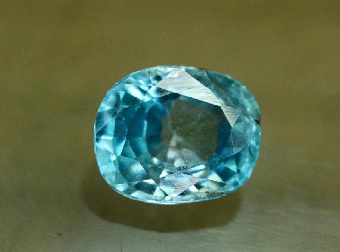 1.75 carats Blue Zircon Loose Gemstone from Cambodia - - 2