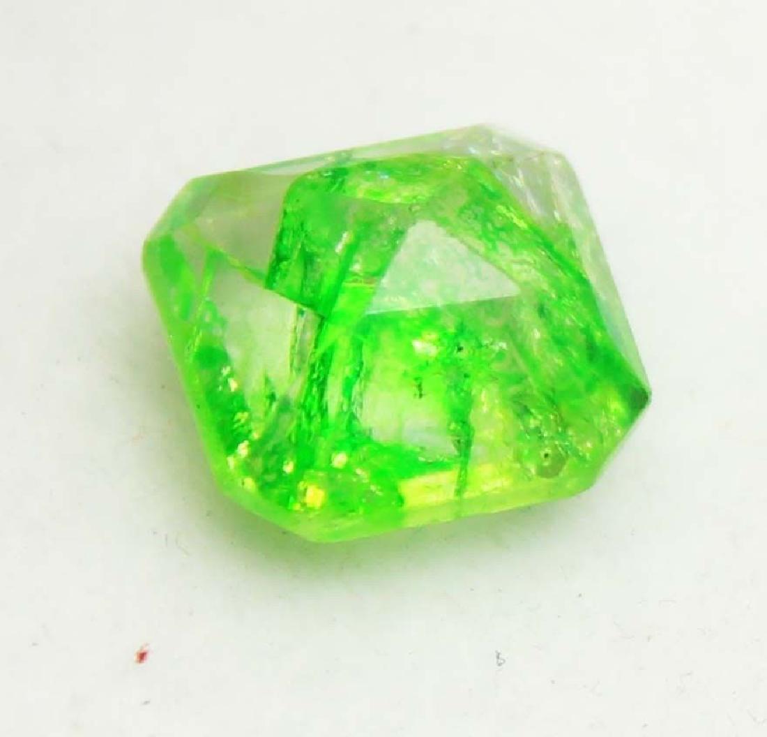 5.60Ct Wonderful Natural Green Emerald EGL Certified