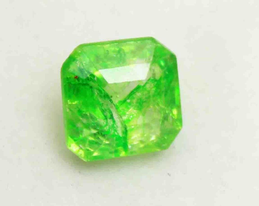 5.60Ct Wonderful Natural Green Emerald EGL Certified - 2