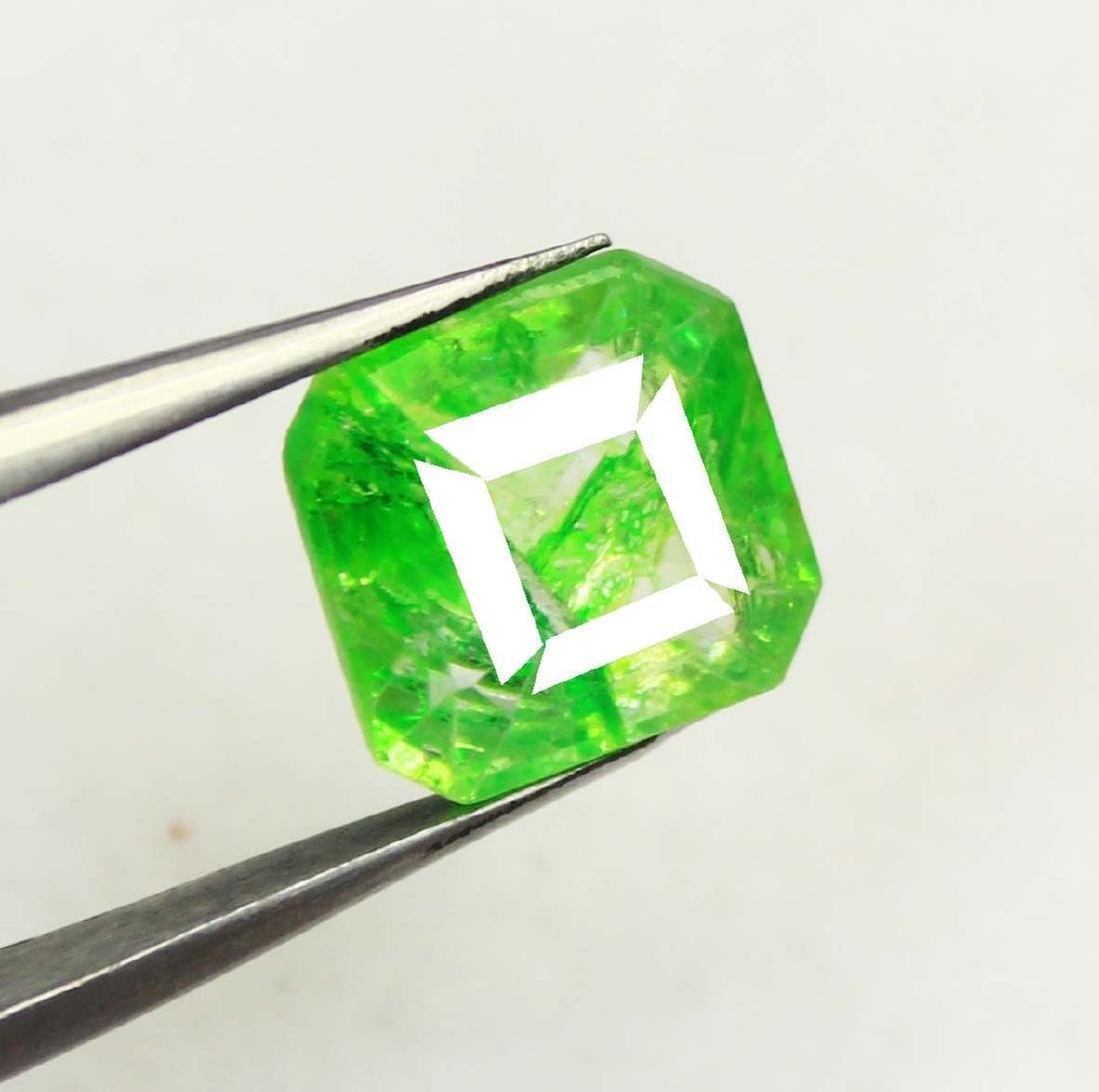 5.60Ct Wonderful Natural Green Emerald EGL Certified - 3