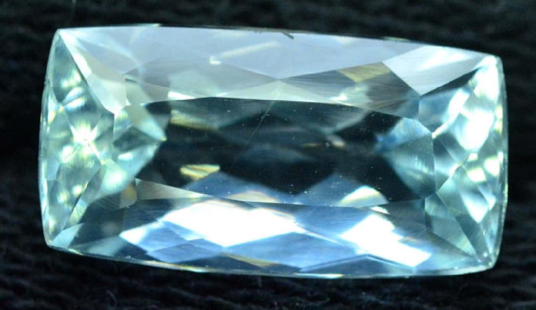 6.35 cts Untreated Aquamarine Gemstone from Pakistan - 5