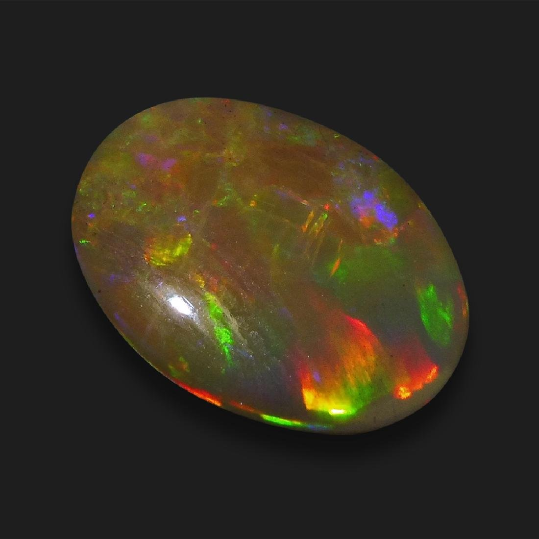2.47 ct Oval Cabochon Opal - No Reserve Price - 5