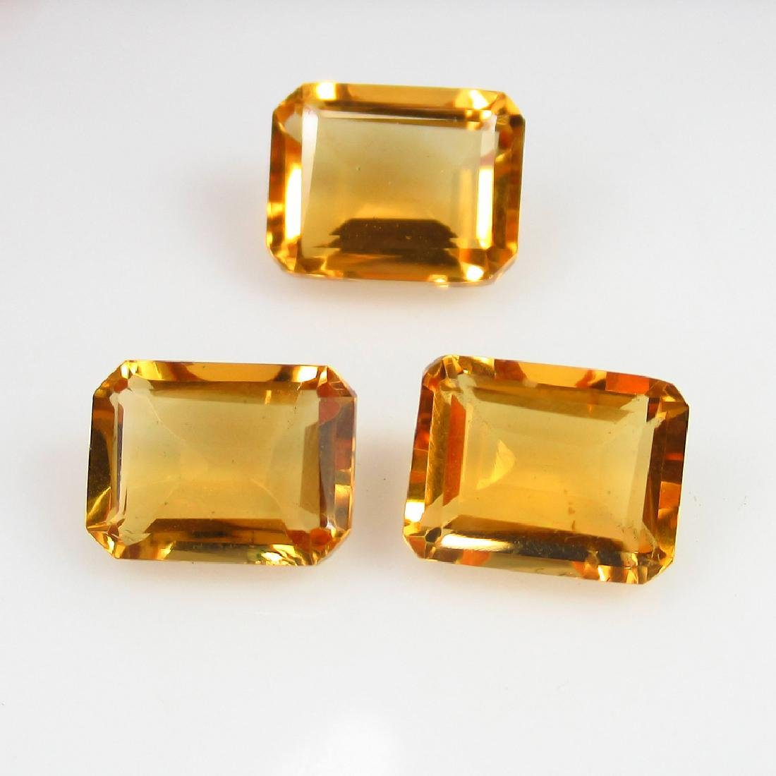 7.90 Ctw Natural Loose Matching Emerald Citrine Set
