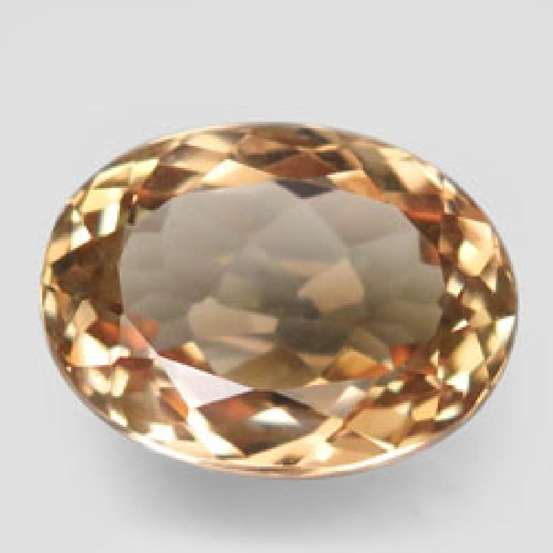 5.9ct 100%Natural Top Imperial Topaz Unheated