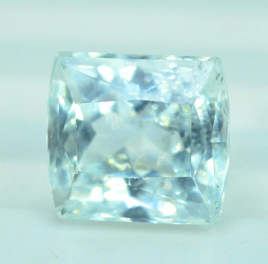 4.30 cts Untreated Aquamarine Gemstone from Pakistan