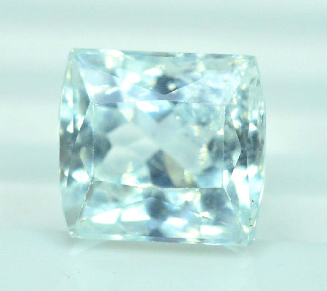 4.30 cts Untreated Aquamarine Gemstone from Pakistan - 2