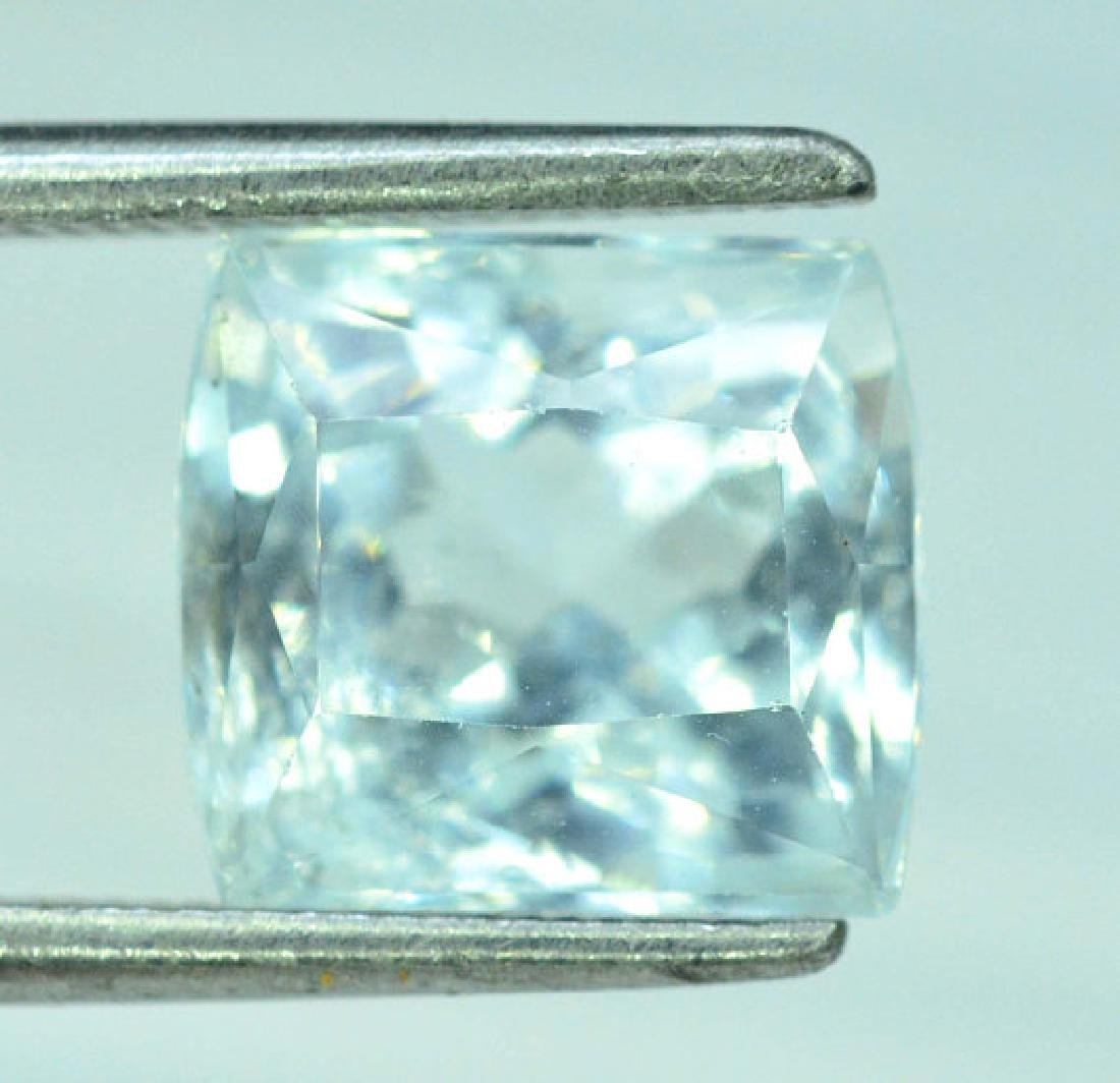 4.30 cts Untreated Aquamarine Gemstone from Pakistan - 3