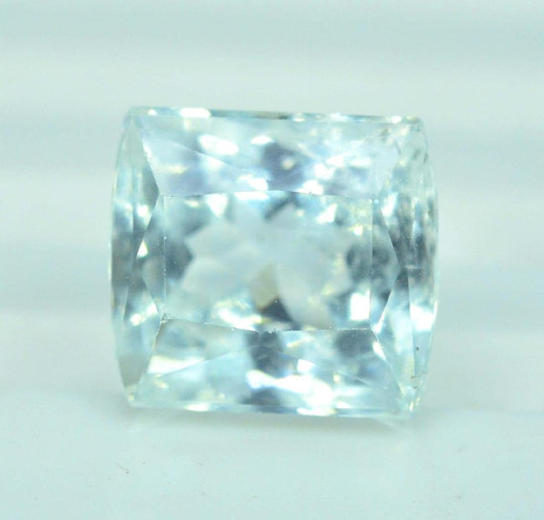 4.30 cts Untreated Aquamarine Gemstone from Pakistan - 4