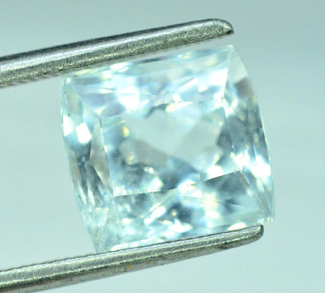 4.30 cts Untreated Aquamarine Gemstone from Pakistan - 5