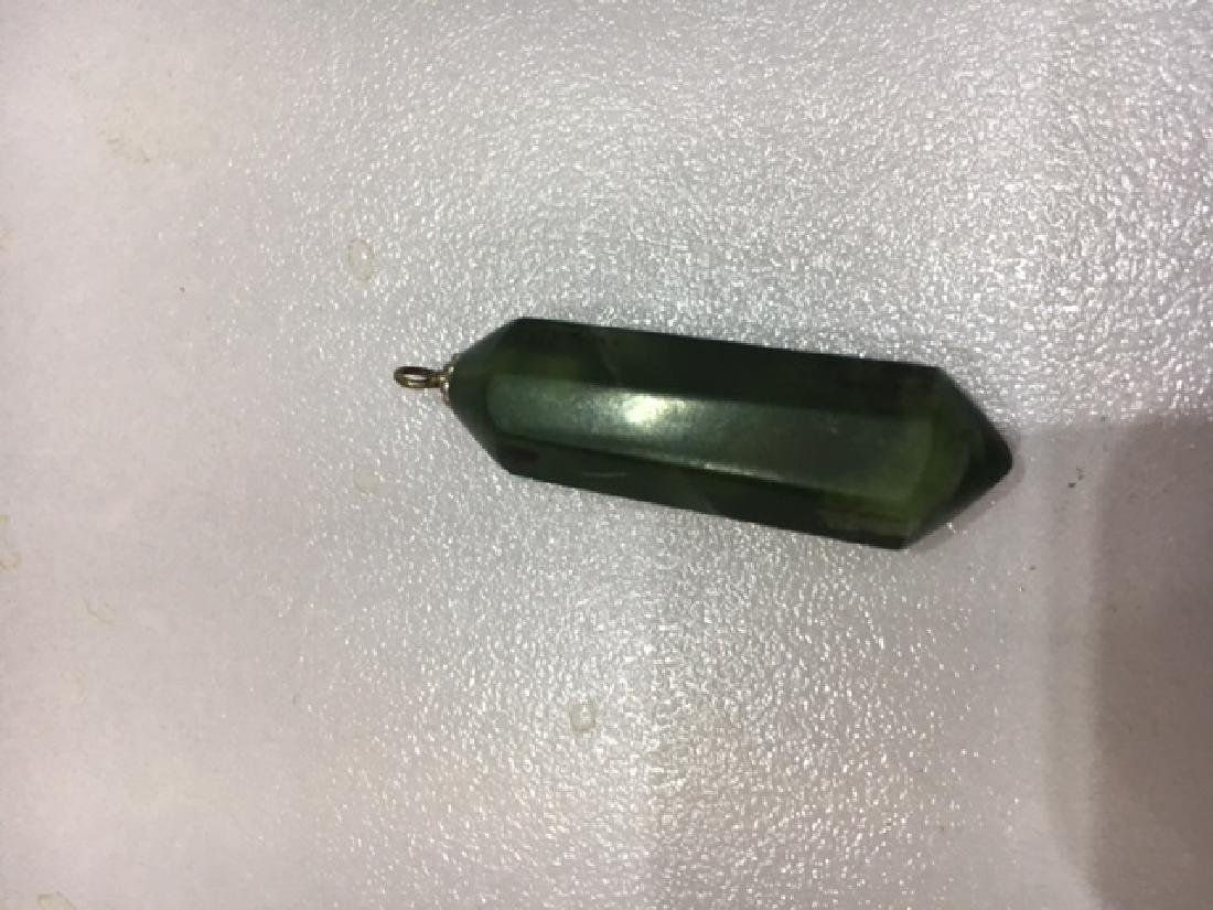 Nepharite jade Pendulam locet - 3