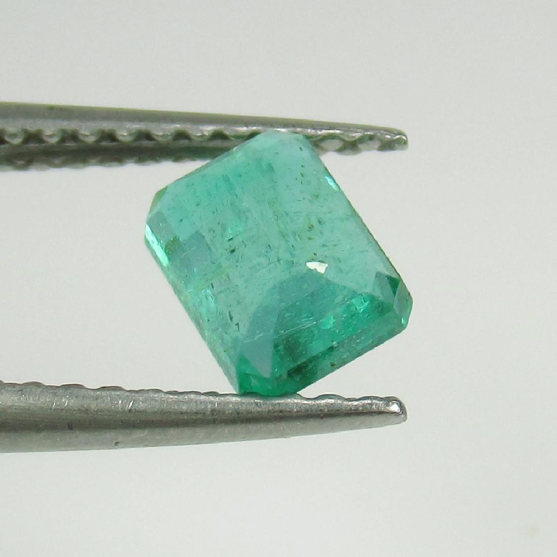 IGI Certified 0.74 Ct Genuine Zambian Emerald Very Good - 3