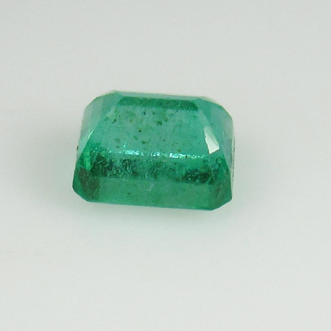 IGI Certified 0.74 Ct Genuine Zambian Emerald Very Good - 5