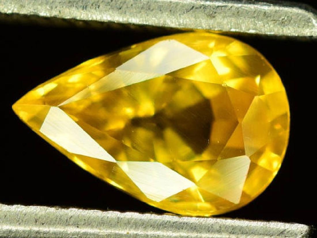 0.90 carats Very Beautiful Yellow Sapphire Loose