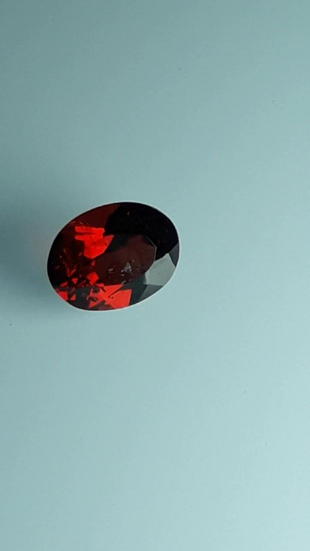 2.4ct Untreated Vivid Madagascar Red Garnet | VVS - 6