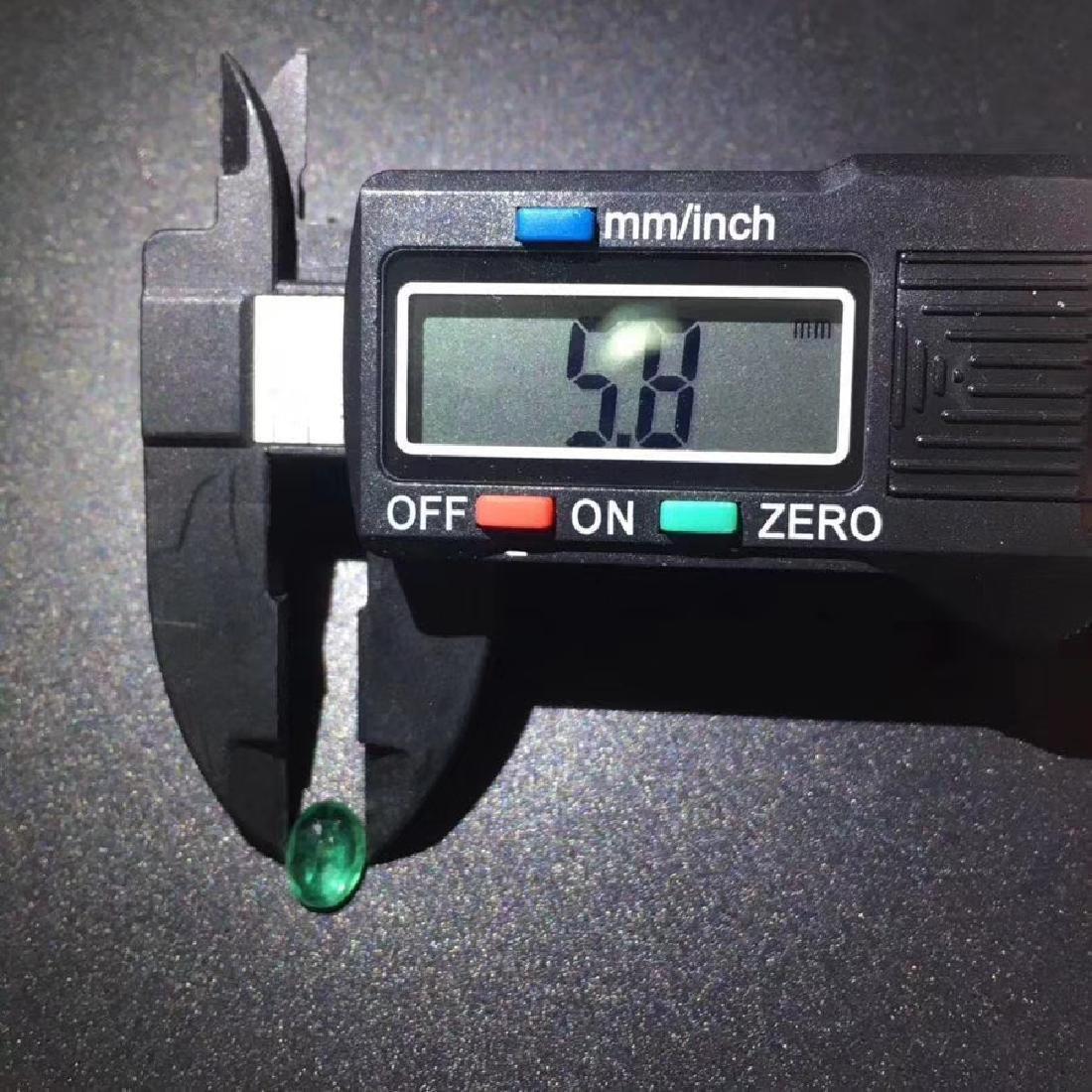 0.99 ct Emerald 5.8*7.8*3.7 mm Oval Cut - 5
